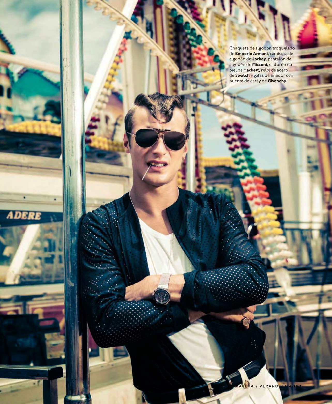 Clement Chabernaud Looks Crazy for Esquire España–The Big Black Book