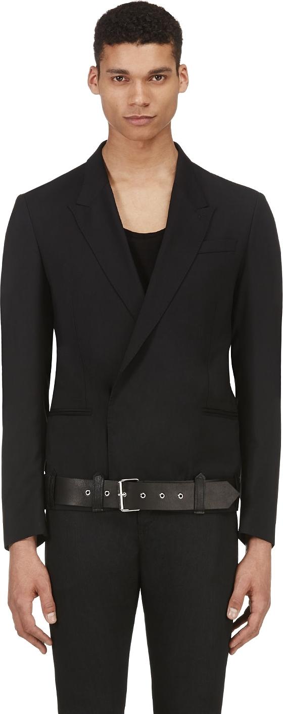 Costume-National-Blazer-Leather-Belt