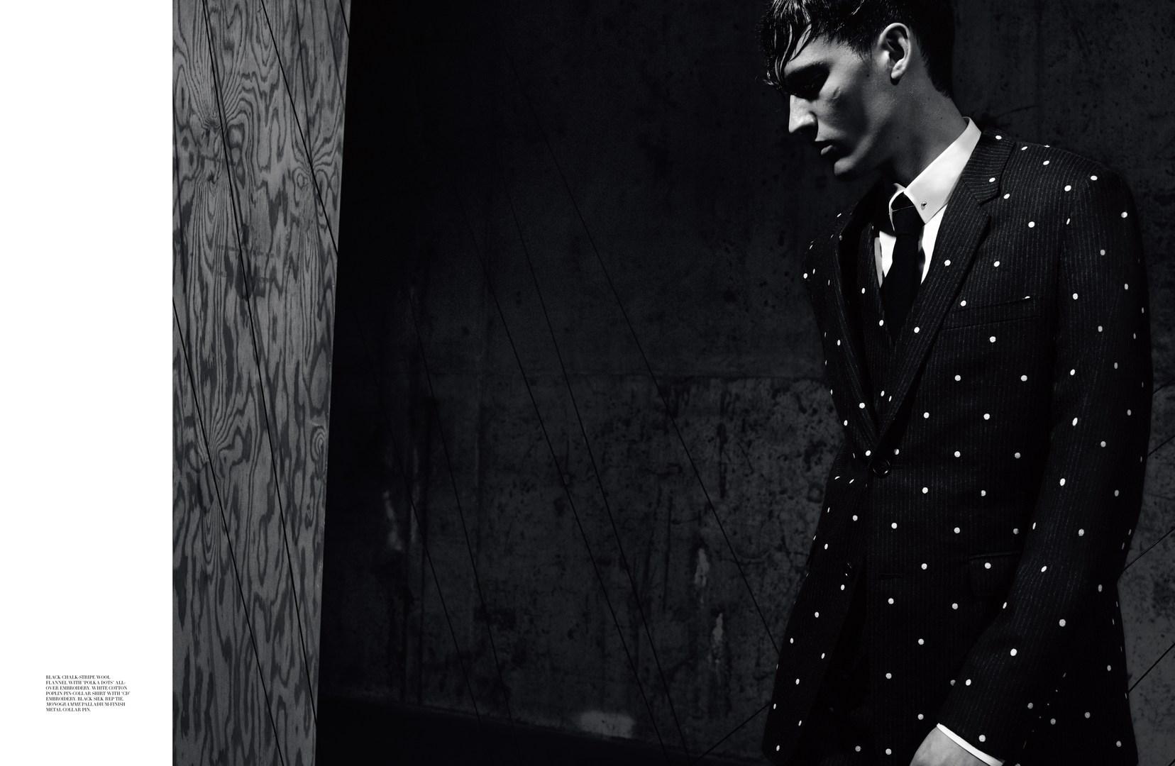 Dior Magazine: Dzhovani Gospodinov by Greg Harris