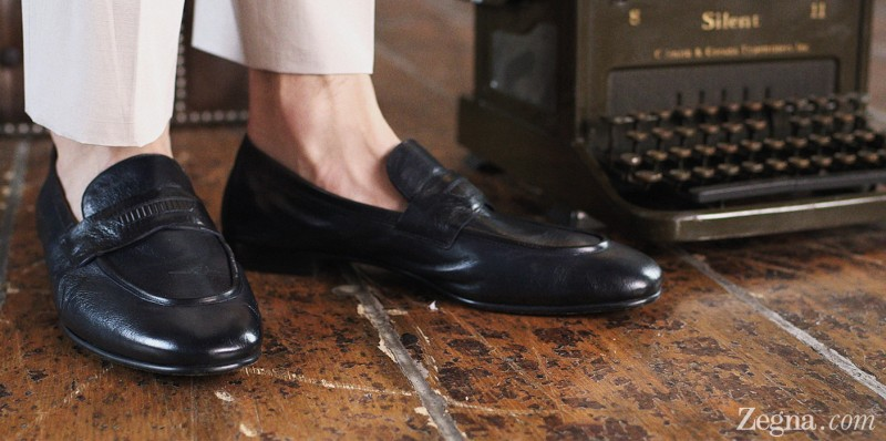 Ermenegildo-Zegna _Style-Guide-SS14_Video-tutorial_ Men-Loafers_watermark
