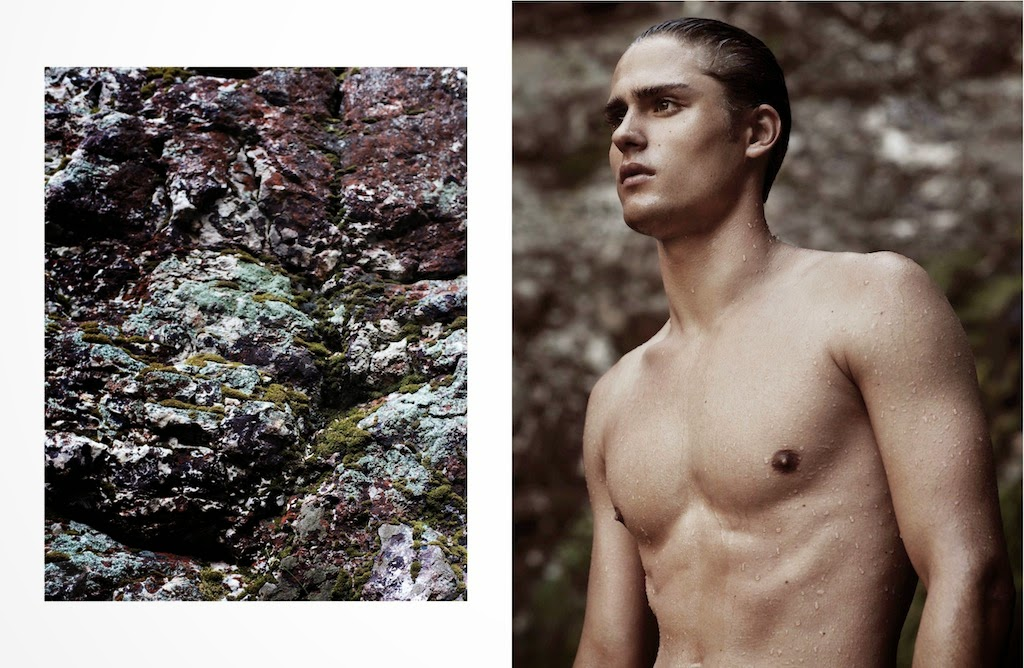 Jacques Naude by Misha Taylor for the Debut Issue of Narcisse
