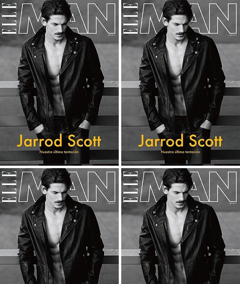 Aussie Model Jarrod Scott Covers Elle Man Mexico