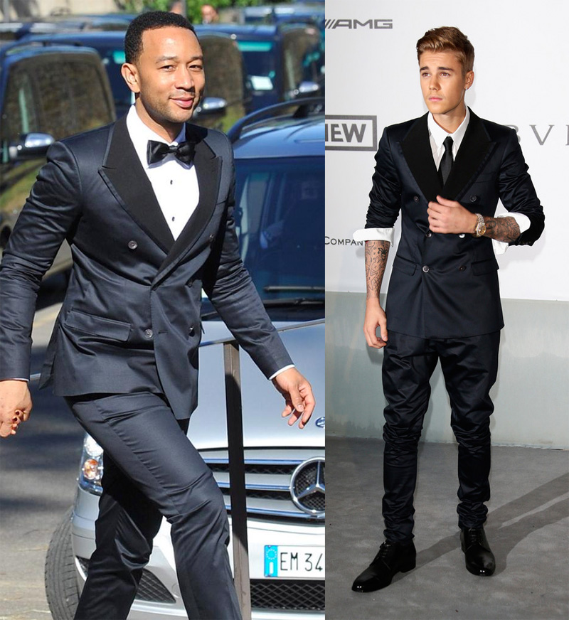 Who Wore It Better? John Legend vs Justin Bieber in Dolce ...