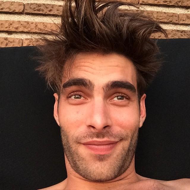 Jon Kortajarena - bad hair day? Never! Hello bed head!