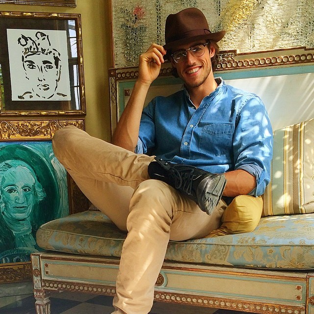 Jordan Stenmark goes for a shoot look that would make Indiana Jones proud