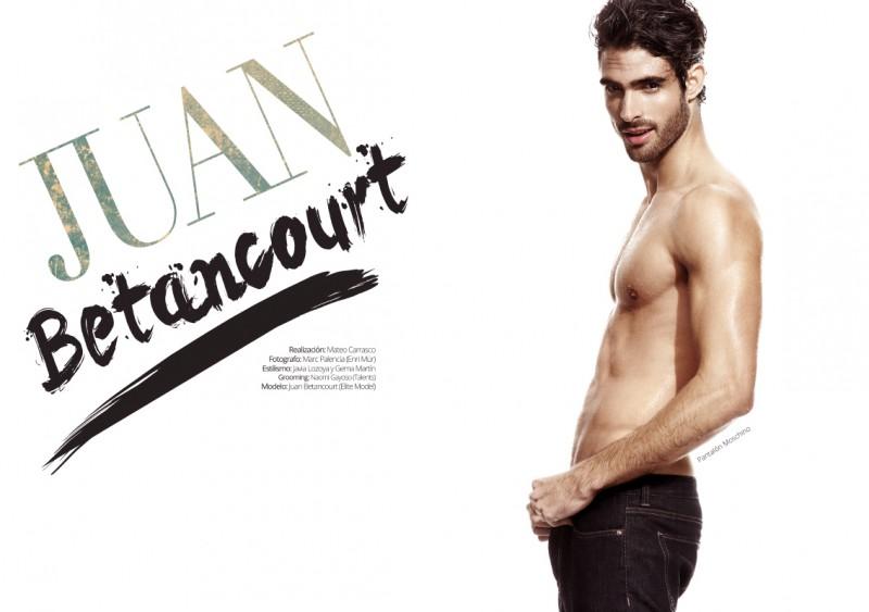 Juan Betancourt Shirtless
