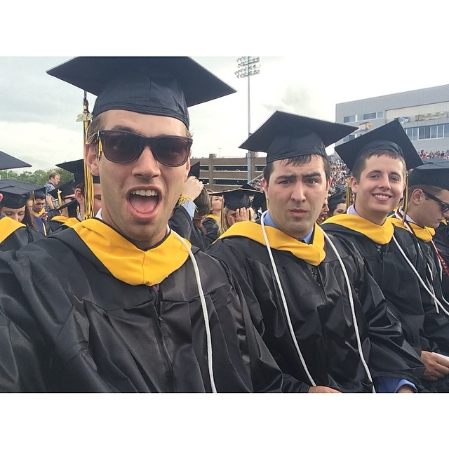 Kacey Carrig graduates from college