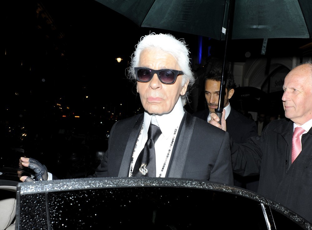Karl Lagerfeld Finds Kids to be Dreadful & Older Adults to be Terrible