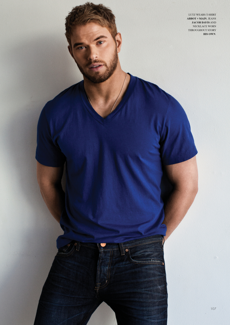 Kellan Lutz for Fashionisto, Talks The Expendables 3