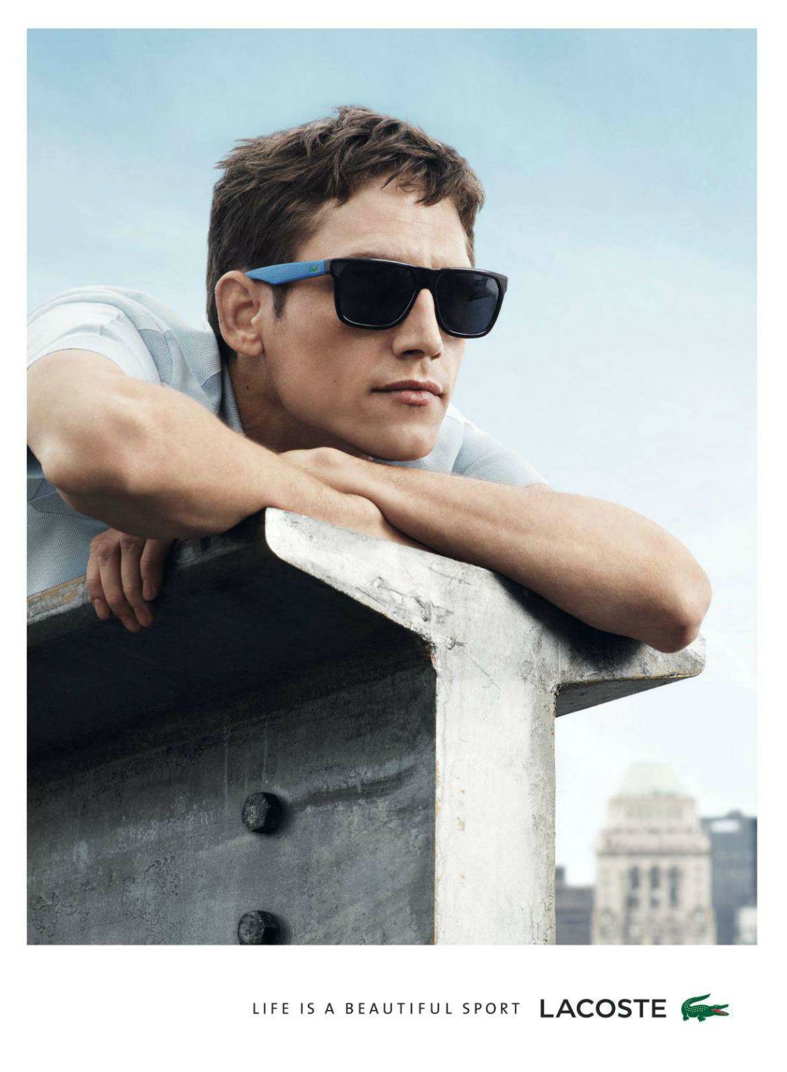 Roch Barbot for Lacoste Spring/Summer 2014 Eyewear Campaign