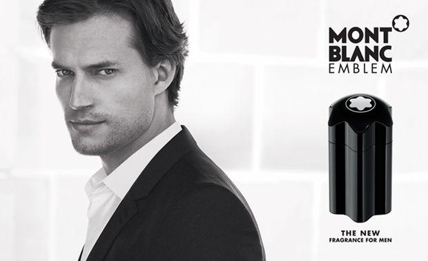 51c90042df61 David Genat Fronts Montblanc  Emblem  Fragrance Campaign