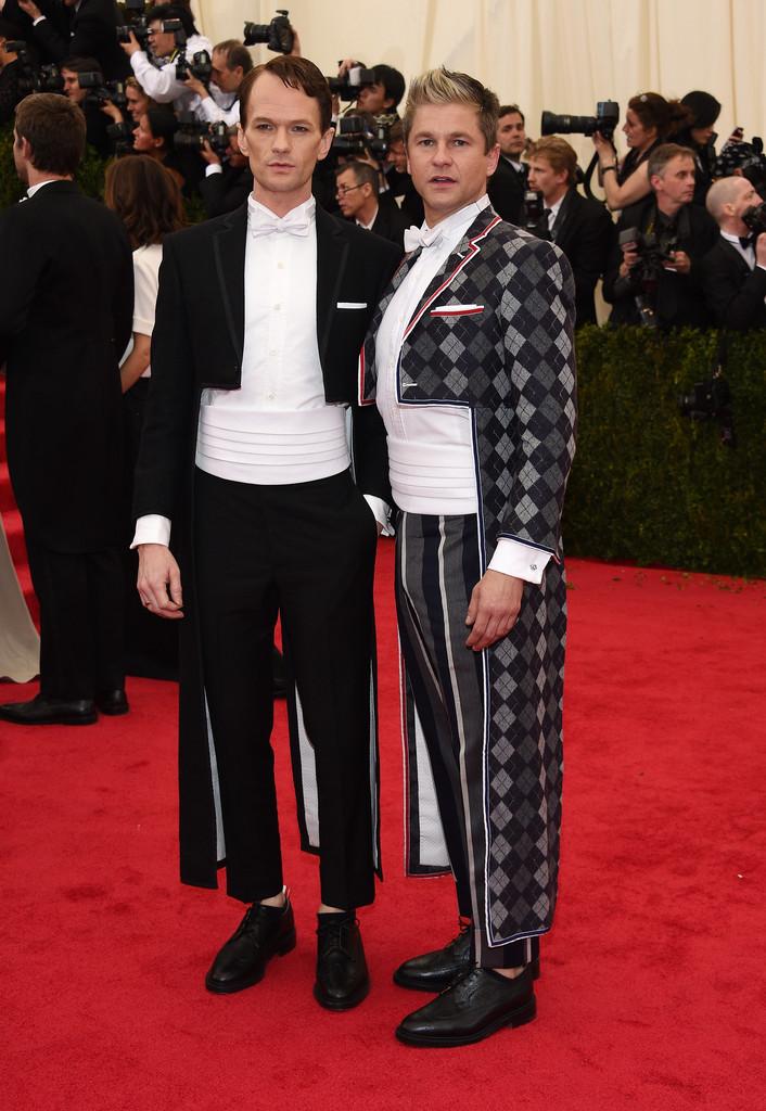 Neil Patrick Harris + David Burtka 2014 Met Gala