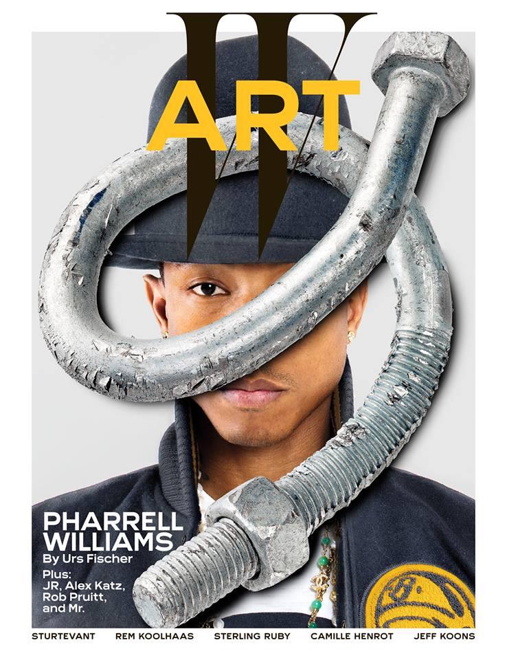 Pharrell W Magazine Cover