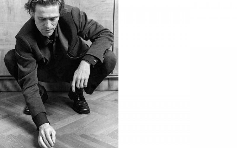 Actor William Dafoe for Prada Men Fall/Winter 1996 Campaign