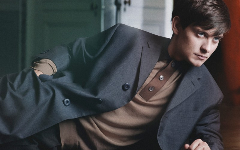 Actor Tobey Maguire for Prada Men Fall/Winter 2011 Campaign