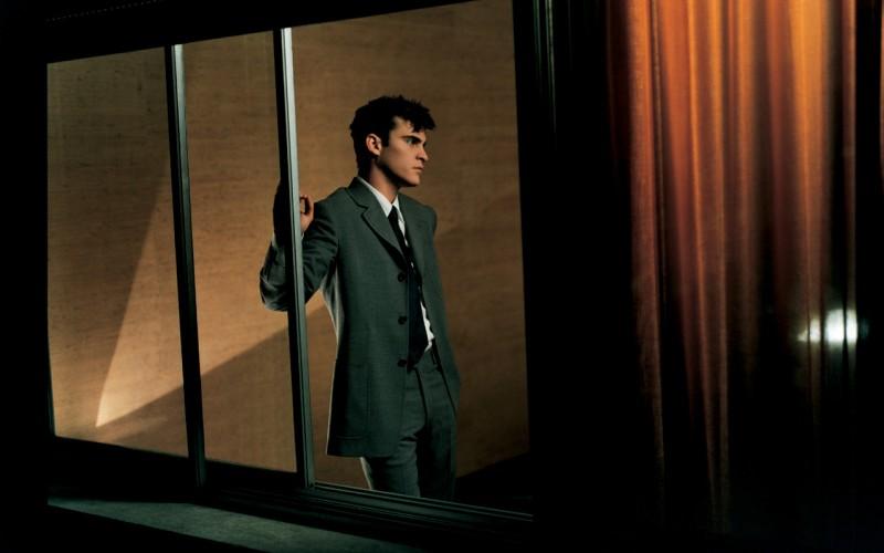 Actor Joaquin Phoenix for Prada Men Spring/Summer 1997 Campaign