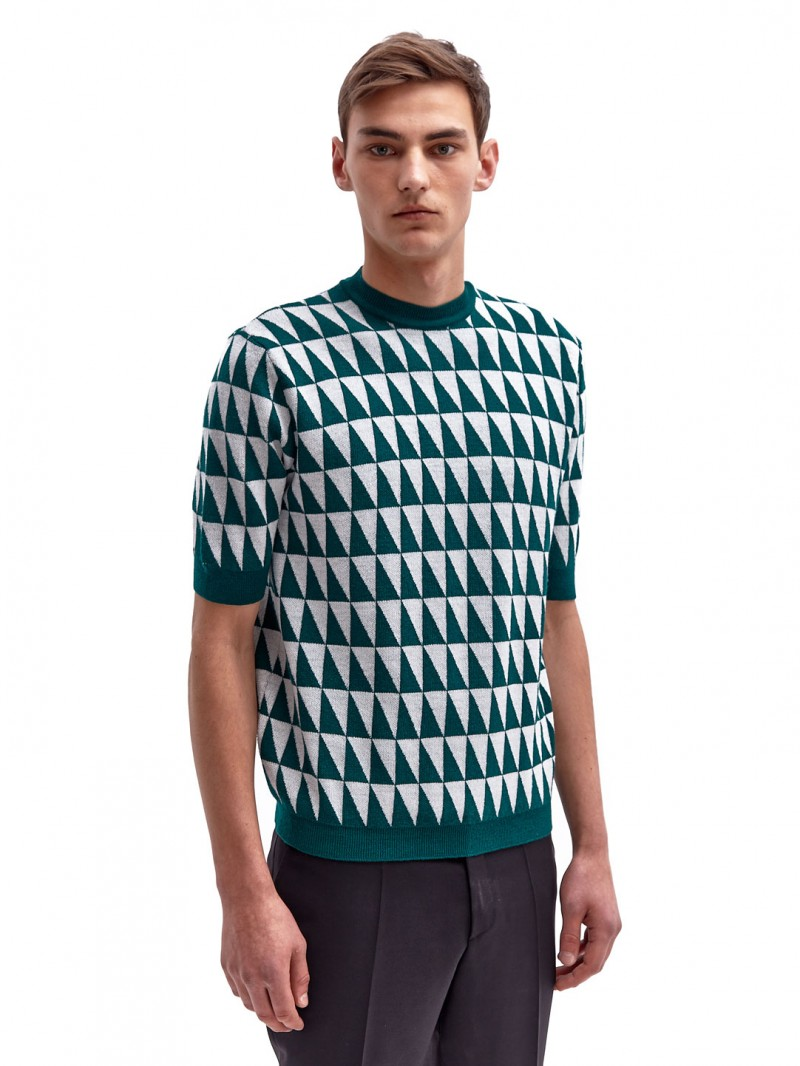 Raf Simons' short-sleeve knit from LN-CC