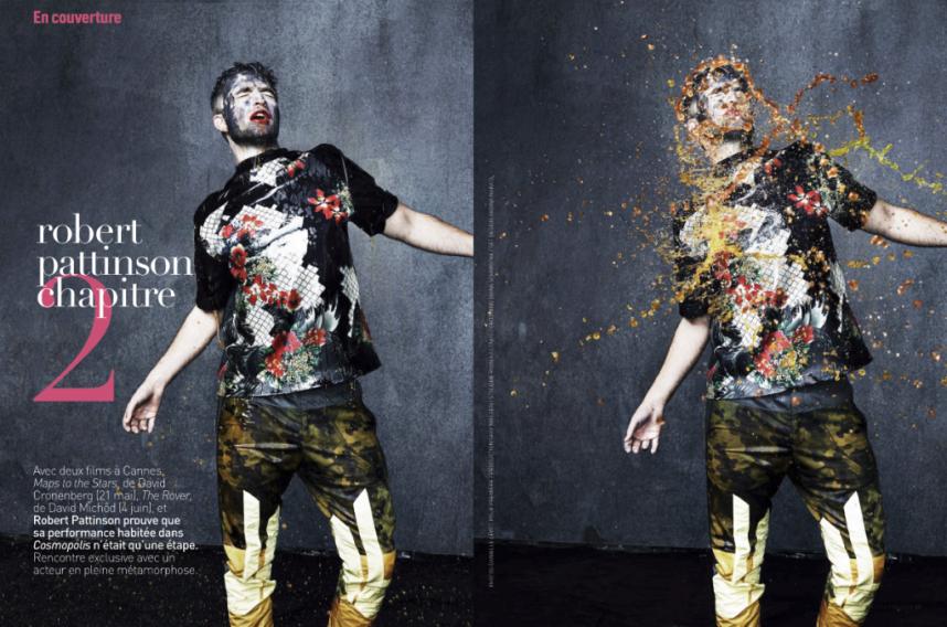 Robert Pattinson Premiere Magazine