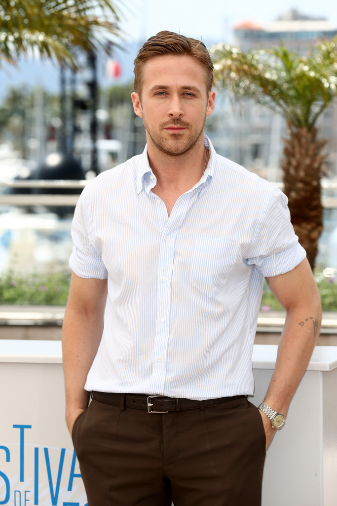 Ryan Gosling rolls up his sleeves for the casual photocall for 'Lost River'