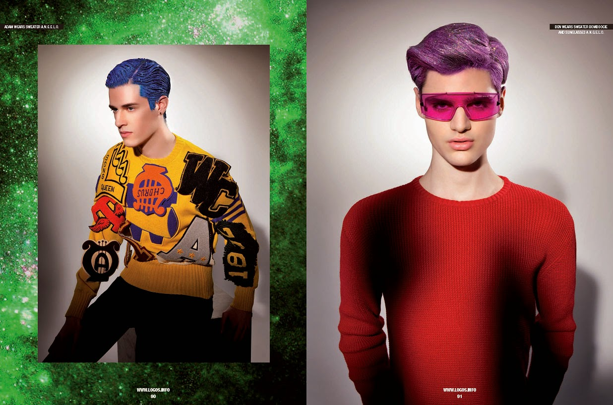 Michele De Andreis Shoots Models with Colored Hair for Sport & Street