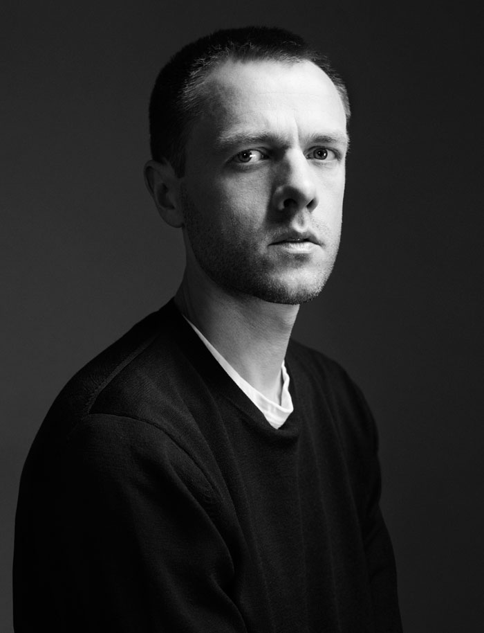 Designer Tim Coppens, Swarovski Award for Menswear Nominee