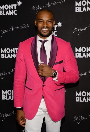 Tyson Beckford attends Montblanc celebration in New York this past April