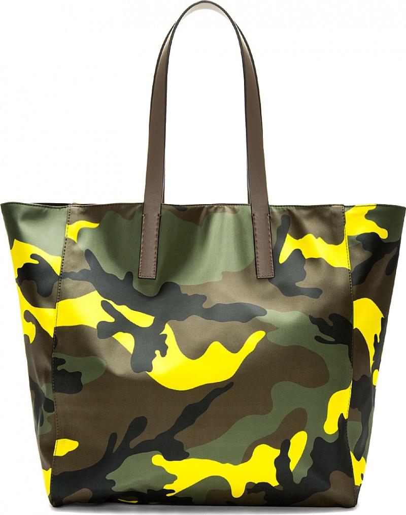 Valentino Camouflage Tote