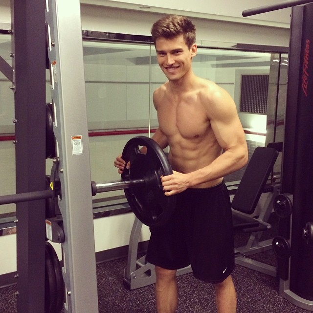 Vladimir Ivanov gets in a workout just in time for summer