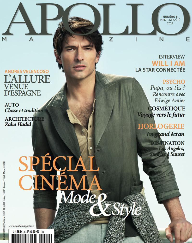 Andres Velencoso Segura Apollo Cover
