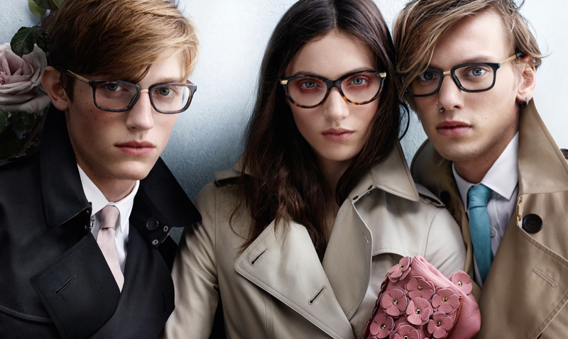 Burberry Spring/Summer 2014 Eyewear Campaign Optical
