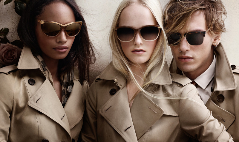 Burberry Spring/Summer 2014 Campaign Sunglasses