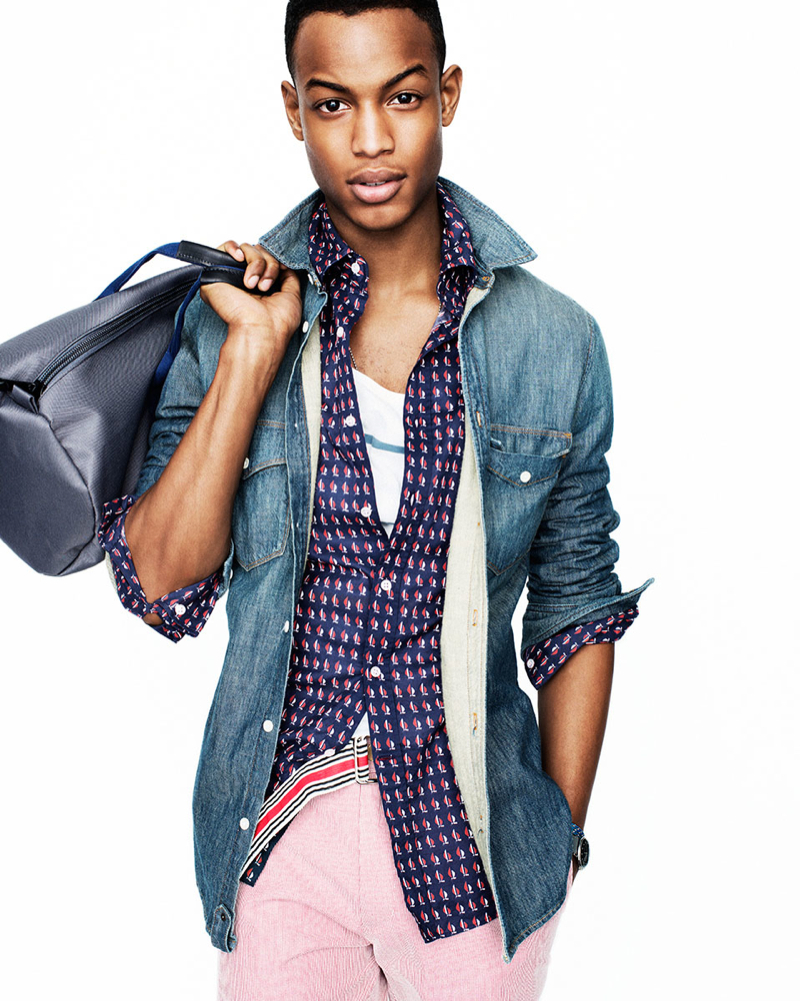 early summer style conrad bromfield for gq the fashionisto