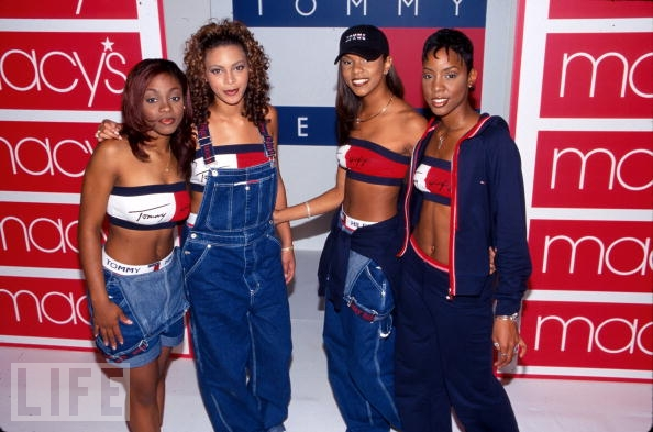 Destiny's Child Tommy Hilfiger