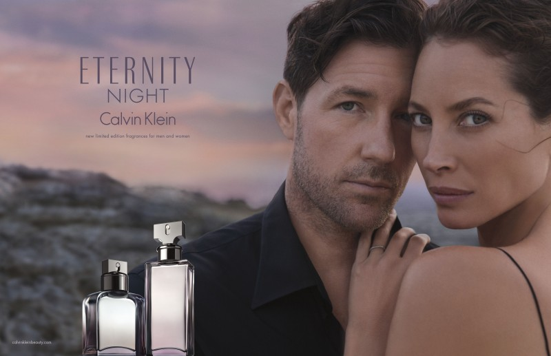 Eternity Night Calvin Klein Christy Turlington Edward Burns