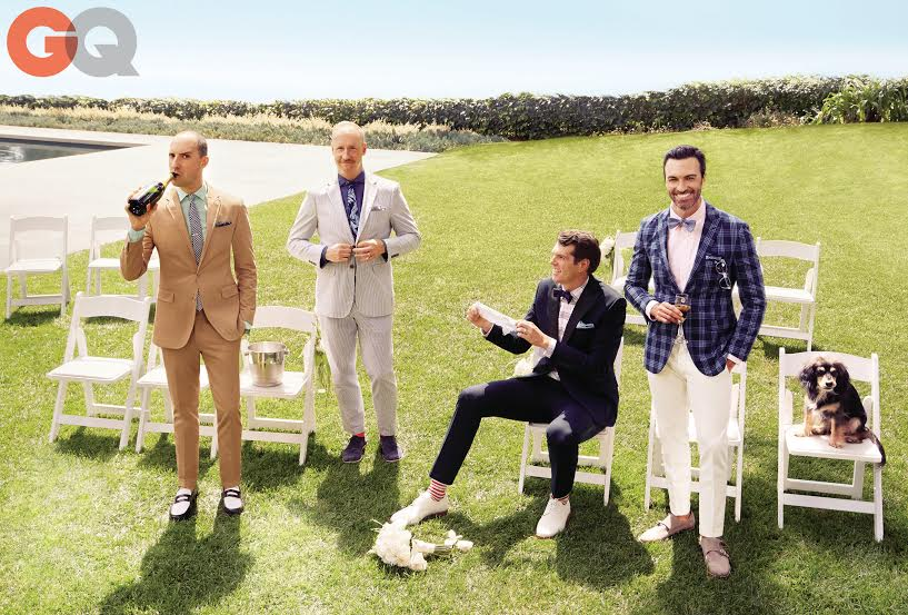 Wedding Style For Men The Men Of Veep For Gq The