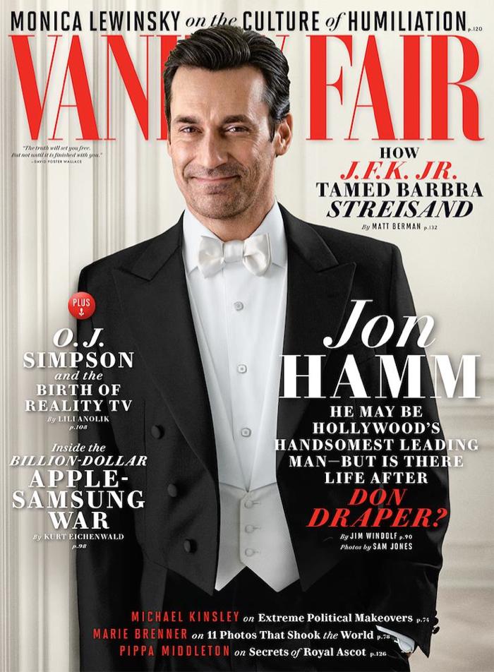 Jon Hamm Vanity Fair June Cover