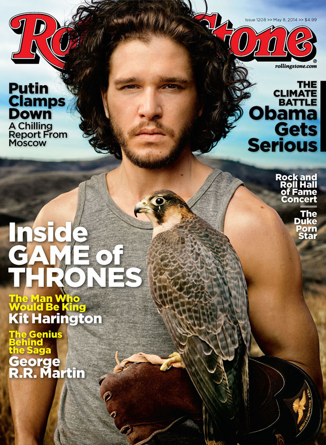 Kit Harington Rolling Stone Cover