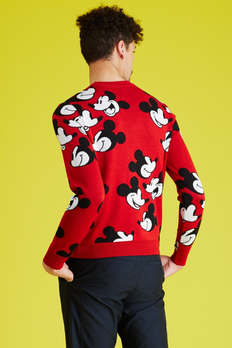 Mickey Mouse x Opening Ceremony Steamboat Willie Face Off Sweater