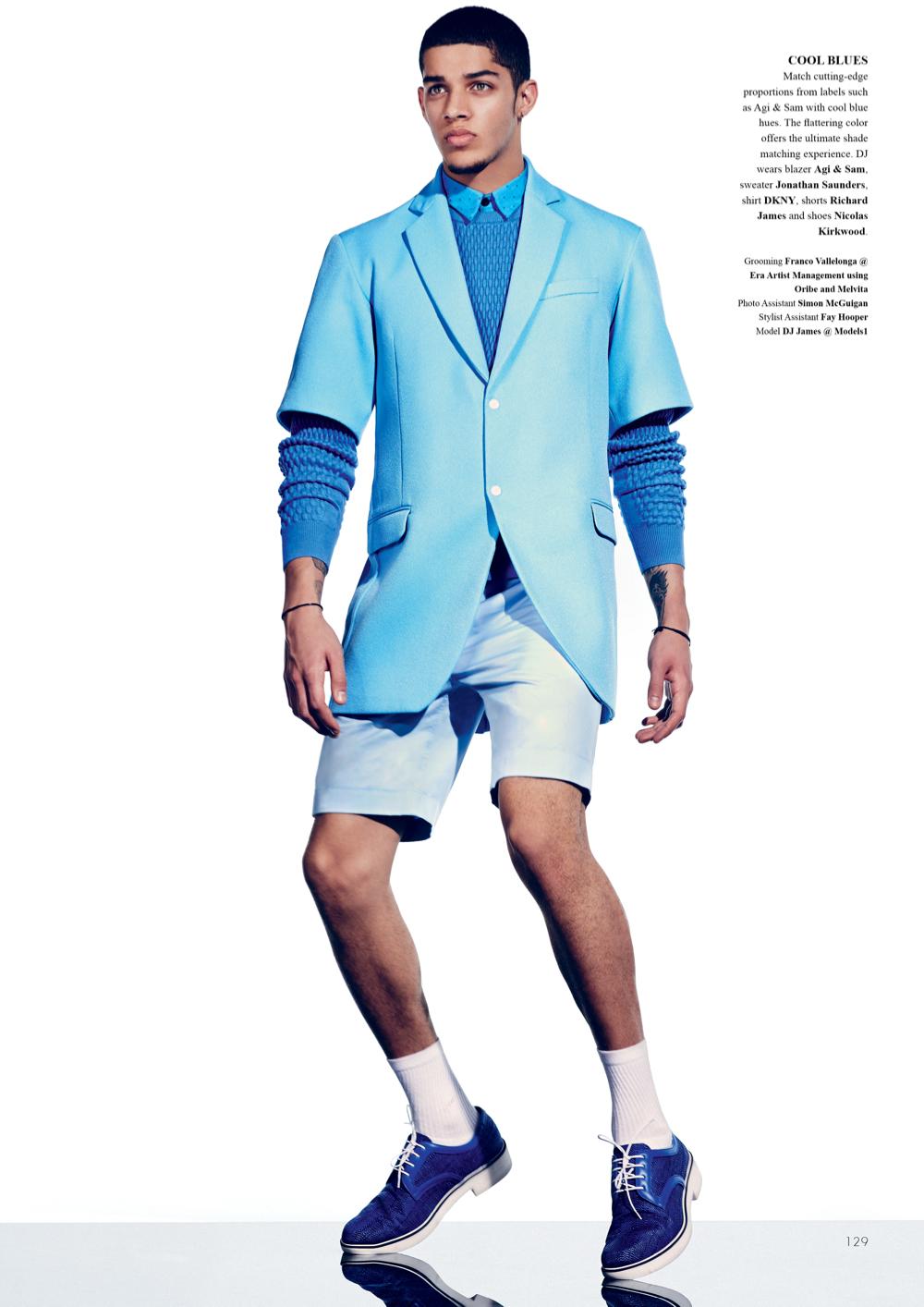 Pop Scene: DJ James by Diego Merino for Fashionisto #10