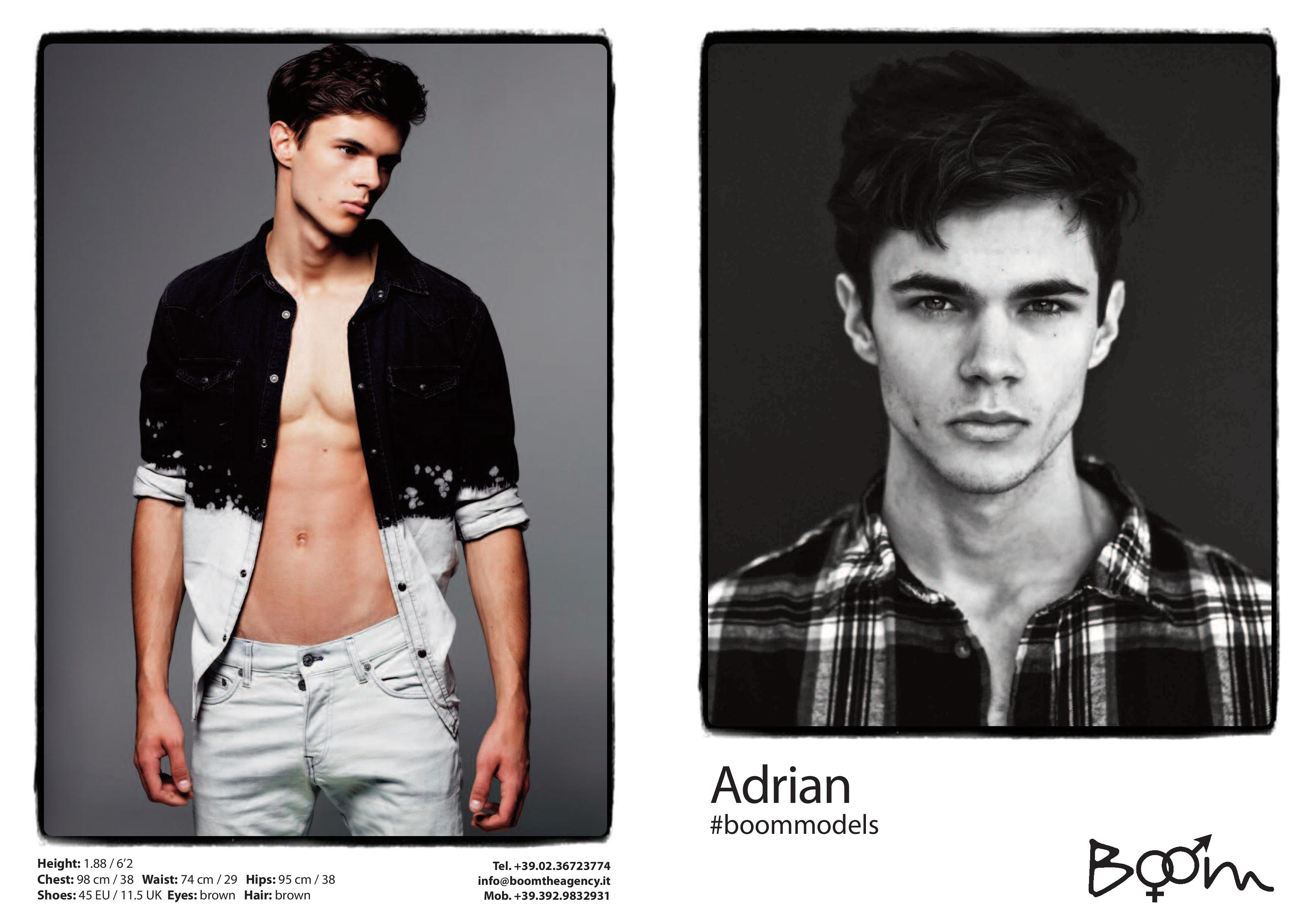 BOOM Models Spring/Summer 2015 Show Package