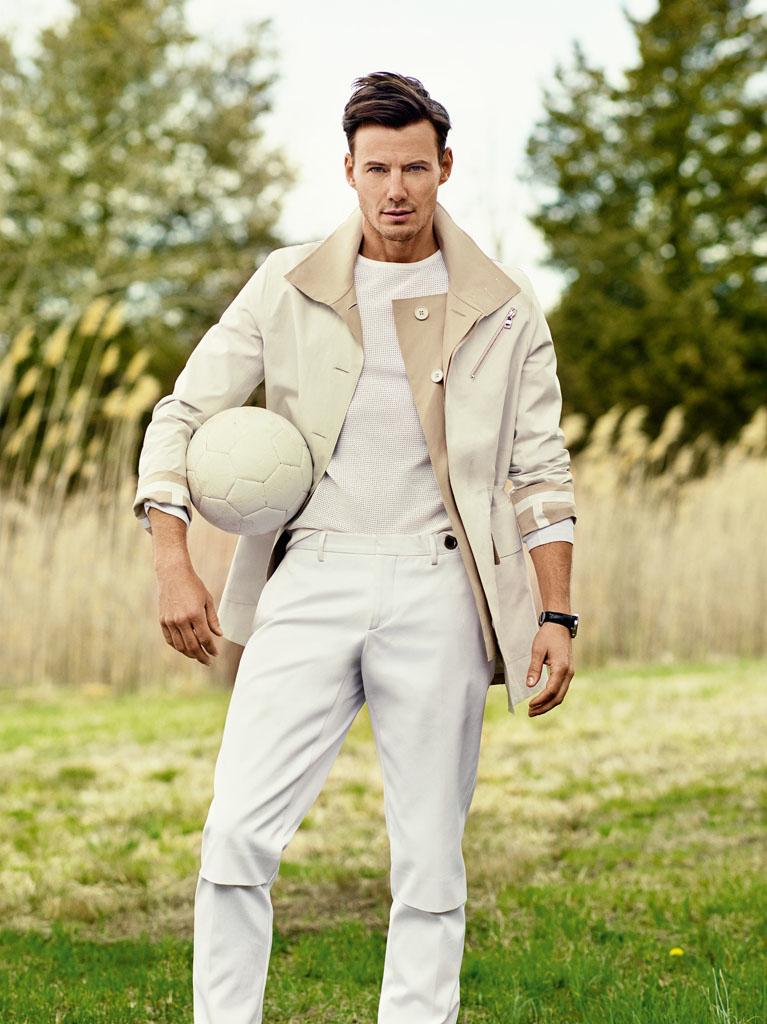 Alex Lundqvist is Posh & Sporty for Vogue Hombre