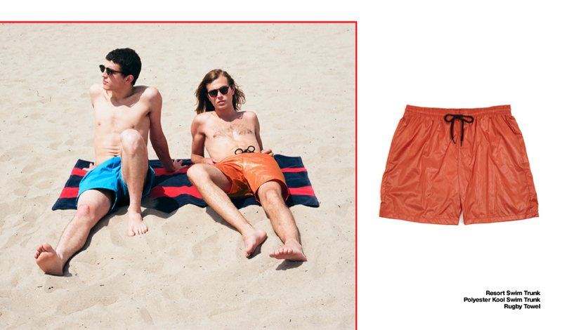 88a5b720dc American Apparel Heads to Coney Island with Swimwear in Toll | The ...