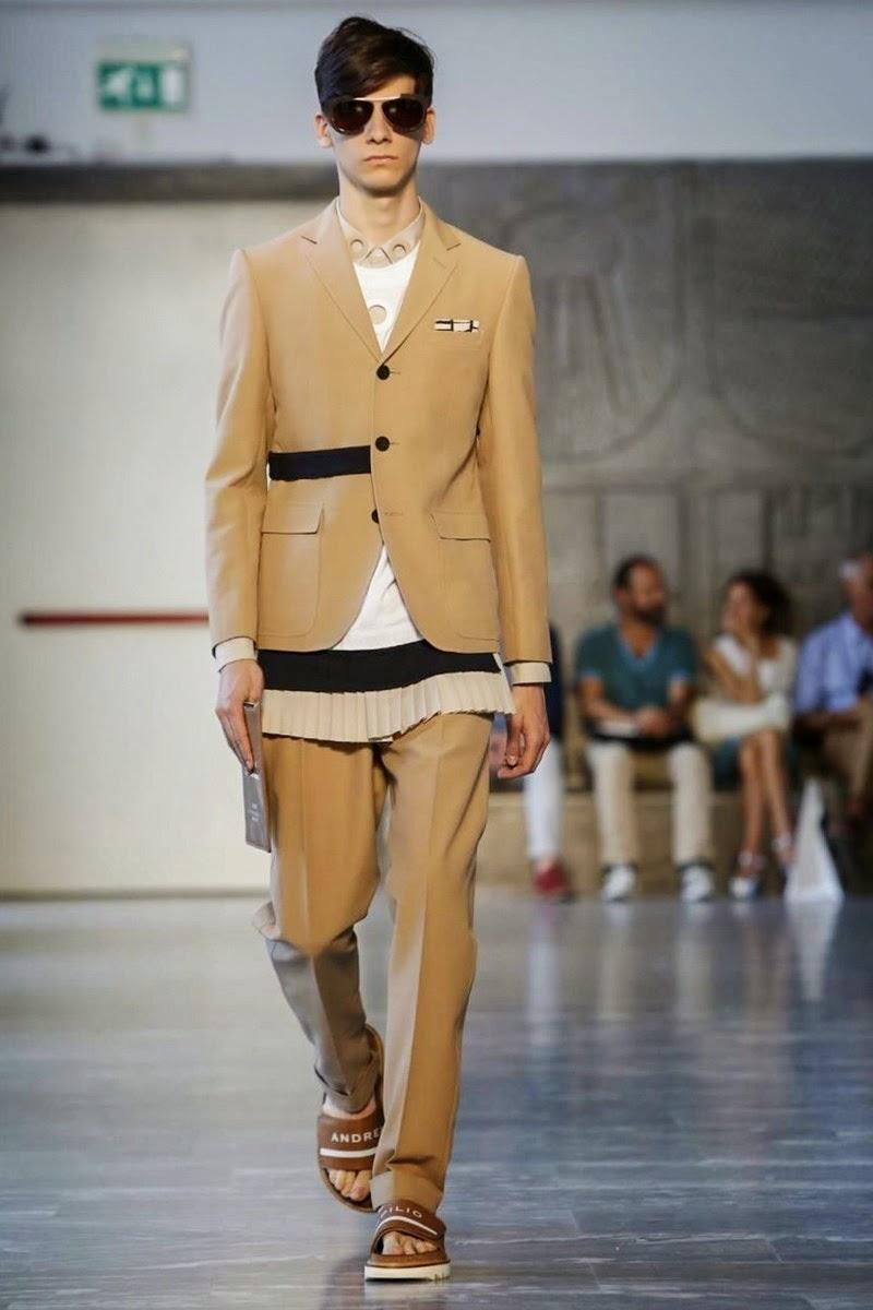 Andrea Pompilio Spring/Summer 2015 | Milan Fashion Week image