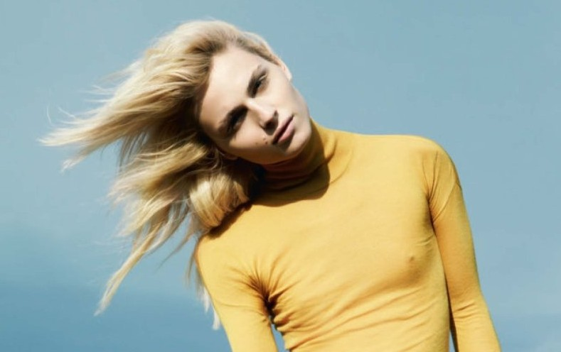 Andrej Pejic by Giulia Noni for French Revue de Modes