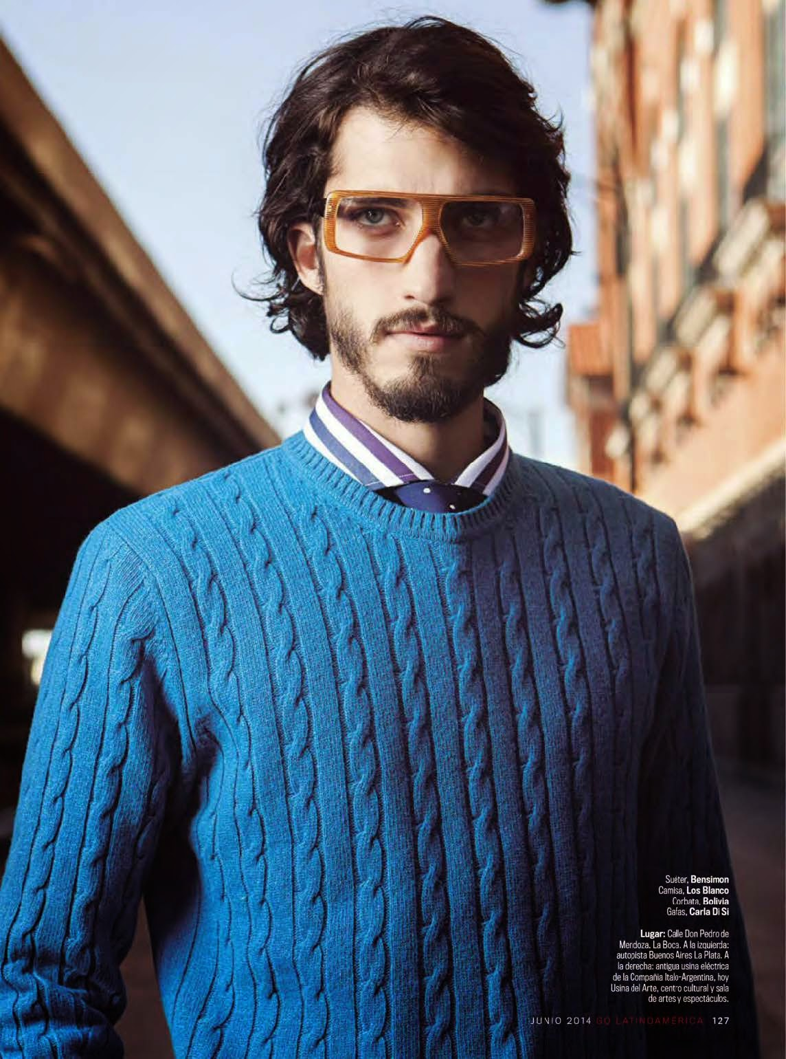 Andres Risso Embraces Smart Pops of Color for GQ Latin America