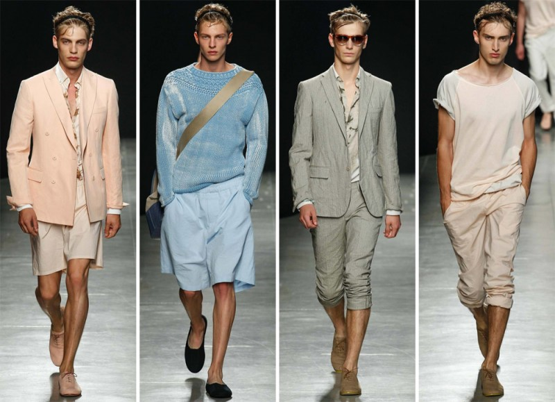 Bottega Veneta Spring/Summer 2015: Pulled back hair, headbands, loose relaxed silhouettes and an athletic vibe won our hearts at Bottega Veneta.