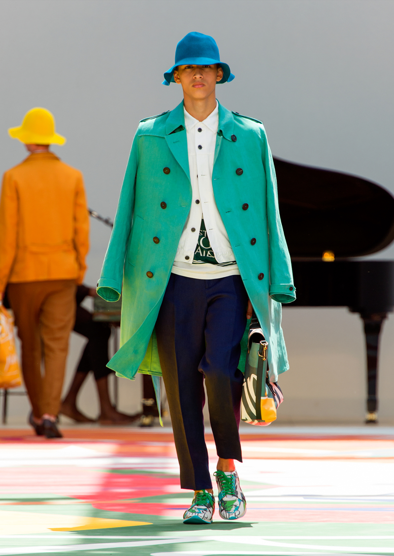 Burberry Prorsum Menswear Spring Summer 2015 Collection - Look 23