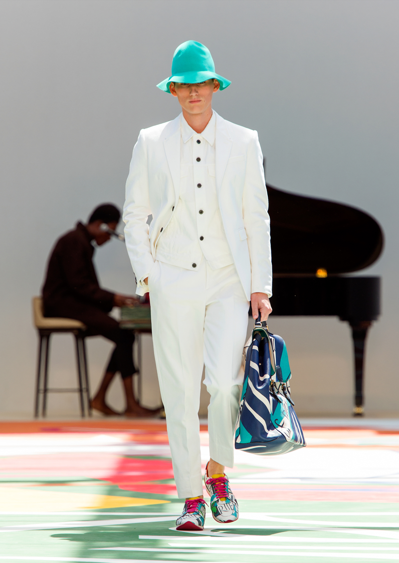 Burberry Prorsum Menswear Spring Summer 2015 Collection - Look 28