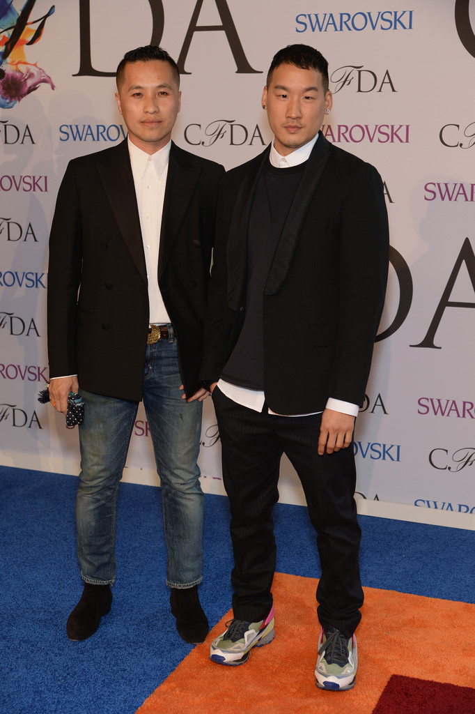 Designers Phillip Lim and Richard Chai