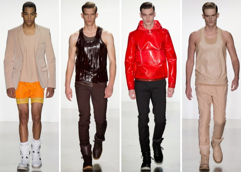 Calvin Klein Collection Spring/Summer 2015: If solar power means vibrant new colors and an interesting use of fabrics, sign us up.
